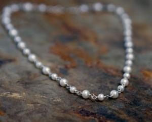 Handmade Pearl Chain